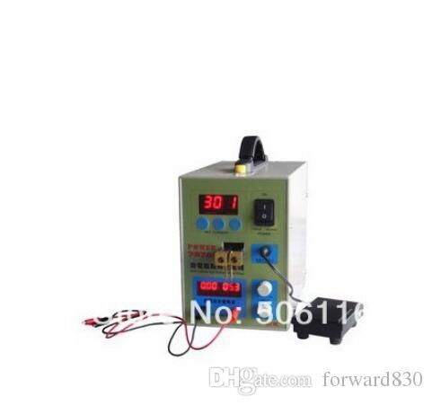 Máquina de soldadura do soldador do ponto da bateria 110V com o pedal 787A + do carregador do carregador da recarga