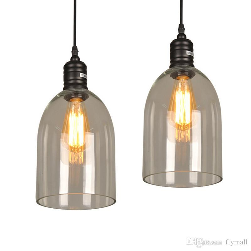 Pendant Light Fixture Vintage Pendant Lamp Glass Shade With Free E27 Edison Bulb Guaranteed 100 Retro Industrial Diy Ceiling Lamp Hanging Ceiling