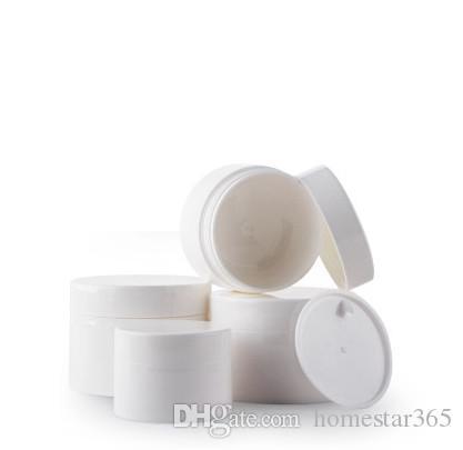 2017 New hot sale 30G White bottle cream box packing box make-up box cream packing bottle