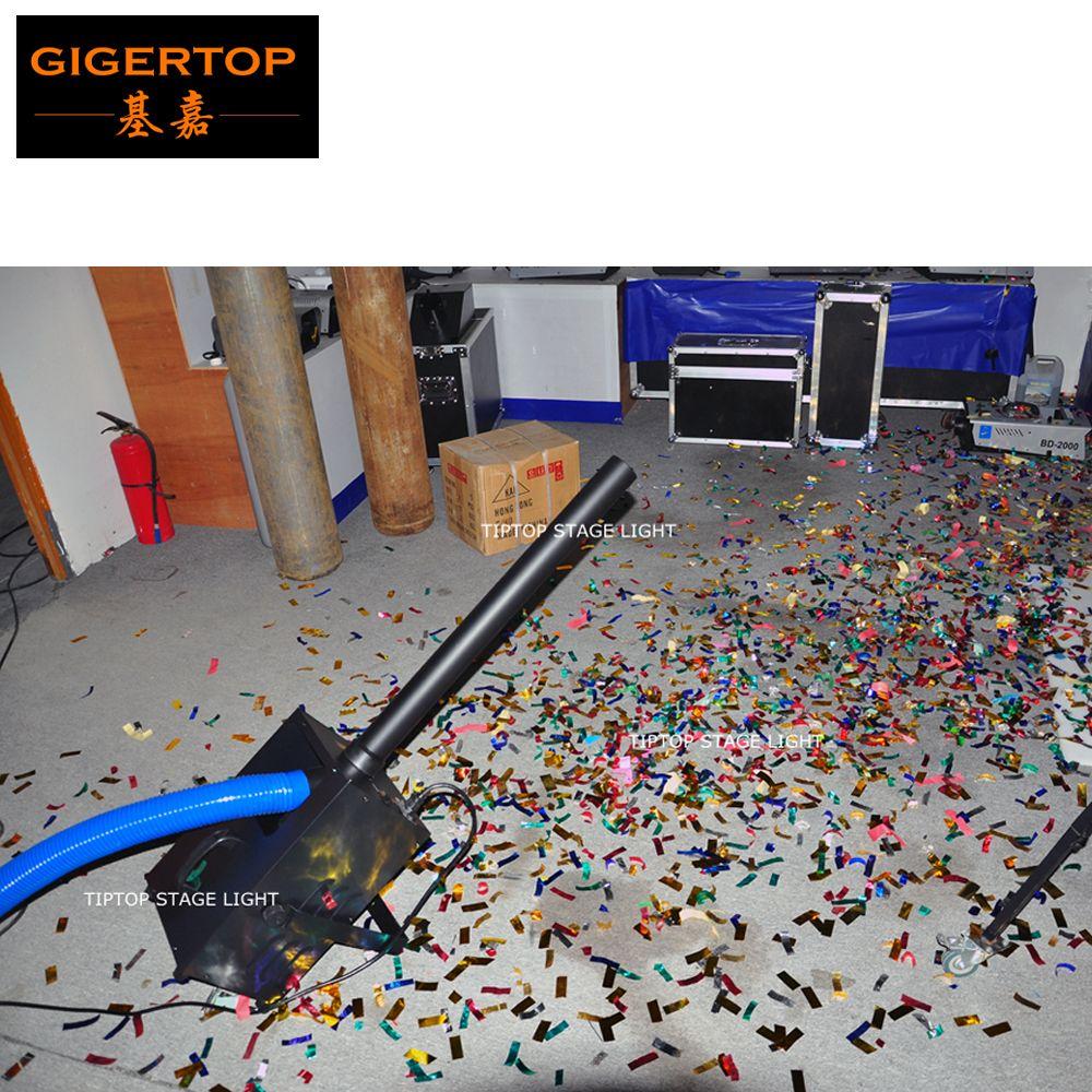 TIPTOP New 1800W Confetti Blower Mini Size Angle Adjustable Bracket Handhold Blower Confetti Machine High-speed Fan 100V/220V TP-T184