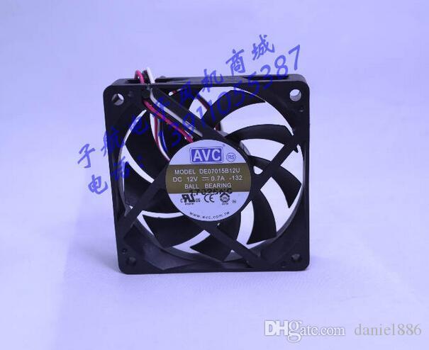Großhandel: AVC DE07015B12U 7015 0,7A 12V 3-Draht-Geschwindigkeit Lüfter CPU-Lüfter