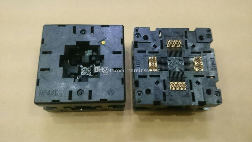 YAMAICHI NP445-048-001 QFN48PIN 0.5MMPITCH IC TEST and BURN IN SOCKET OPEN TOP