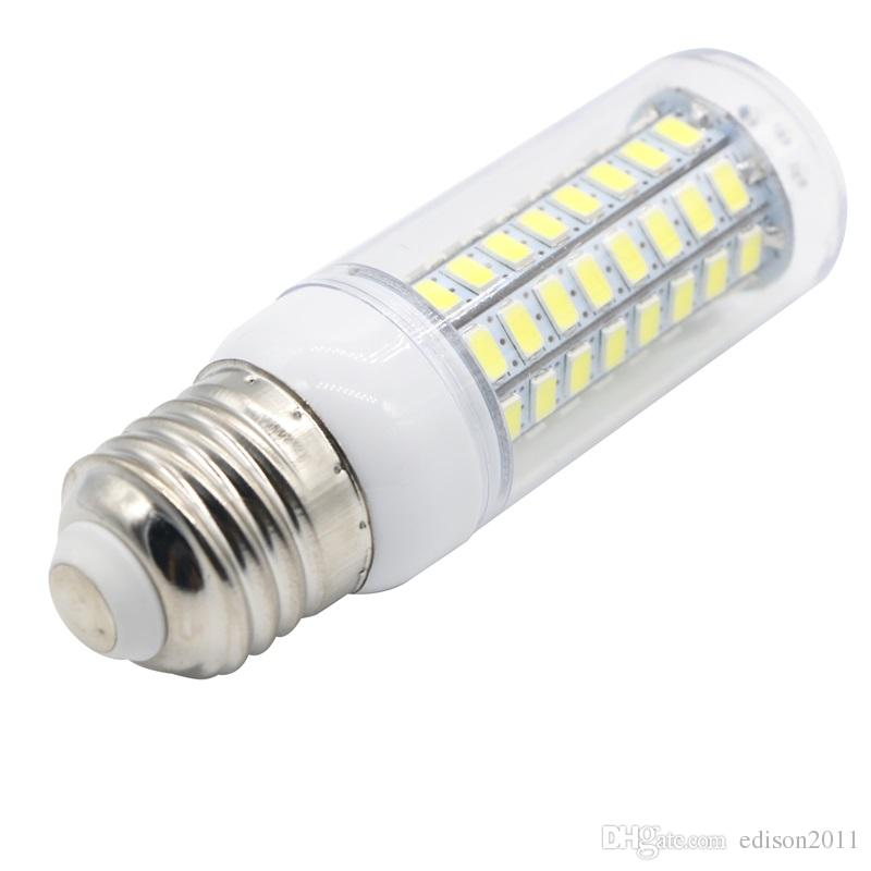 Edison2011 LED 램프 E27 E14 SMD 5730 72 LED 옥수수 전구 220V 110V 72 LED LAMPADA LED 촛불 라이트 스포트 라이트