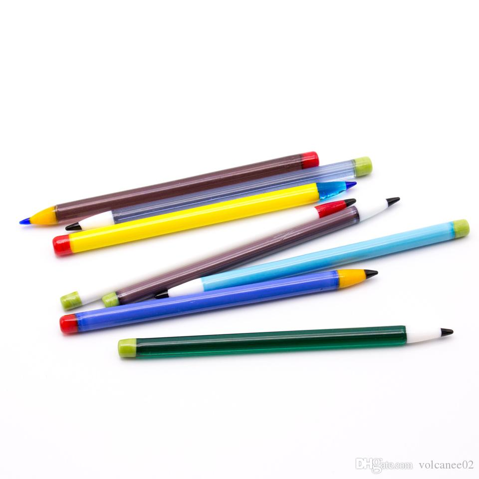 Recentes 5.1 Polegada dab caneta de Vidro Dabber ferramentas dabbing set Carb Cap Wax Dab Ferramenta para dabber Bong De Vidro De Quartzo Bong