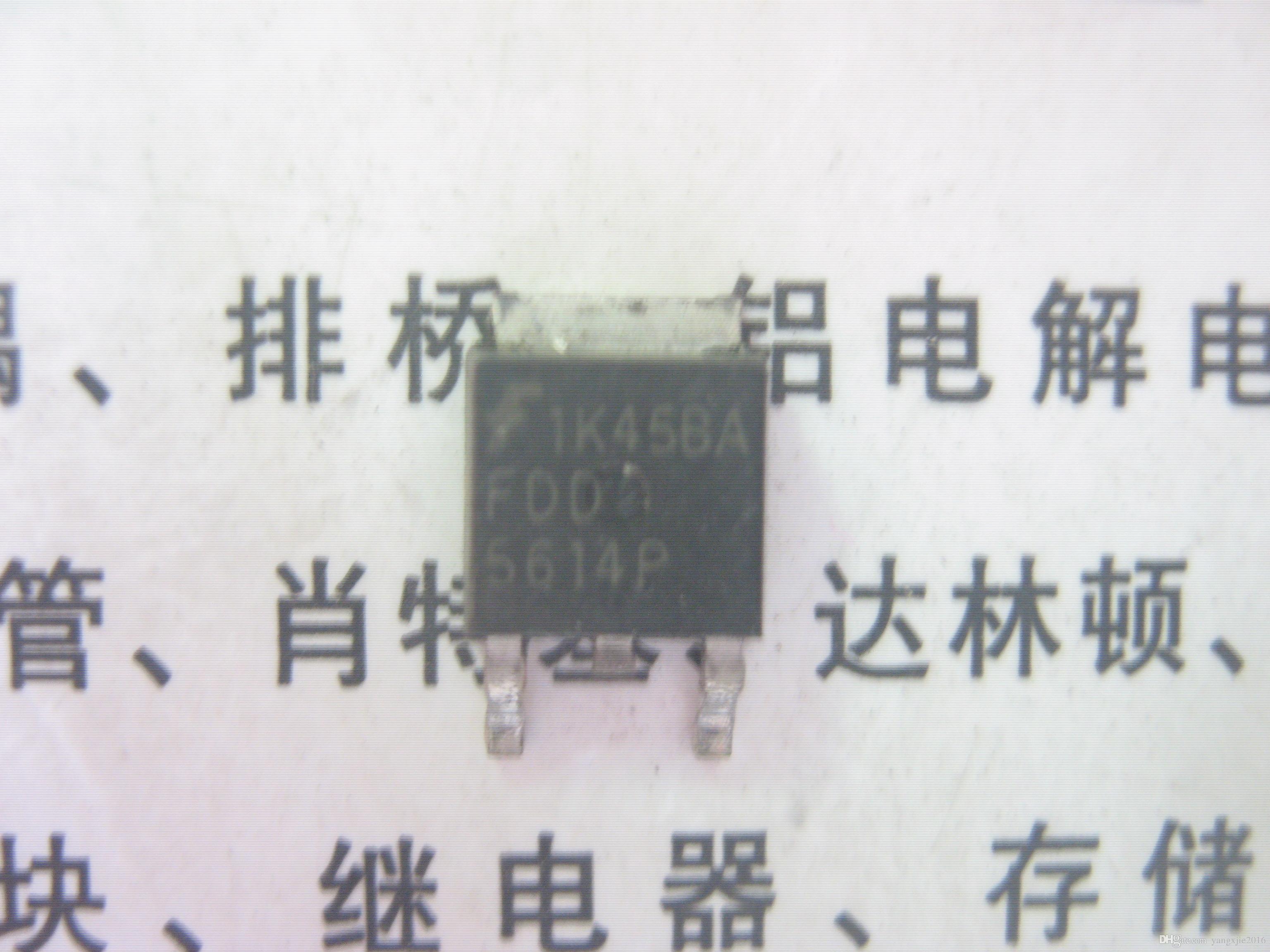 Essai utilisé original du transistor MOSFET TO-252 du transistor FDD5614P N-CHANNEL de l'effet à l'origine
