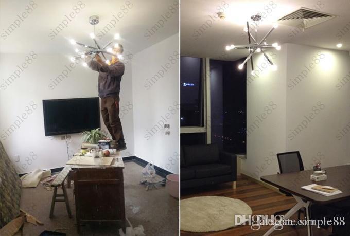 Modern Style Horizon Stars Ceiling Light Creative Lights Bedroom Diningroom Living Room Bar Lighting Fixture
