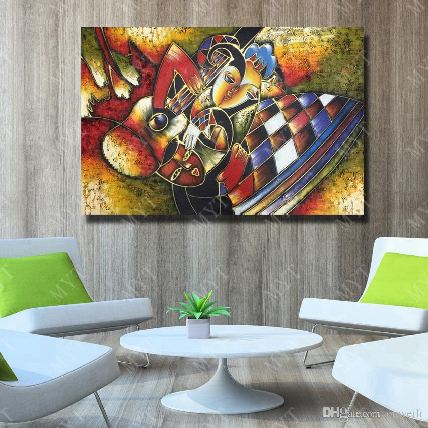 2019 Large Size Cheap Price Home Goods Wall Decor Abstract Religion Buddha Oil Painting Decorative Modern Home Design Bar Bar From Ouweili 10 66