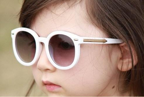 Cool Enfants Lunettes de soleil pour filles et garçons cadre en plastique