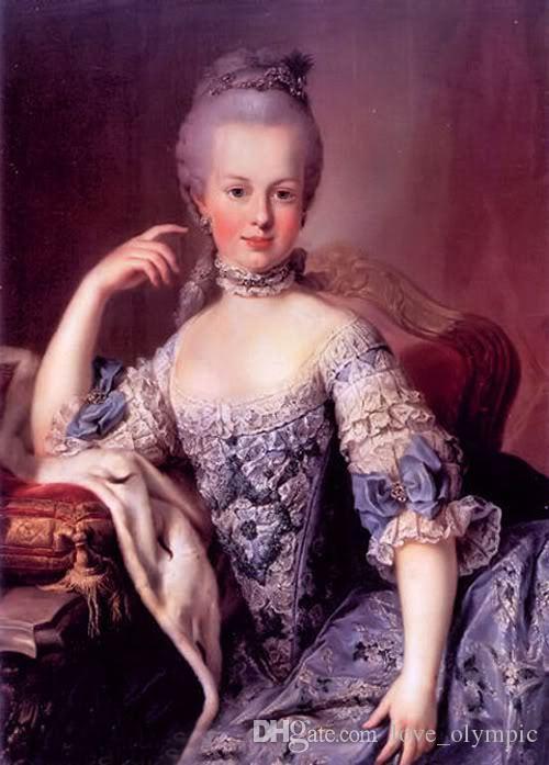 """Обрамленный, R438# """"аристократка портрет Мария-Антуанетта сидит холст """", ручная роспись стены декор искусства масляной живописи нескольких размеров могут быть настроены"""