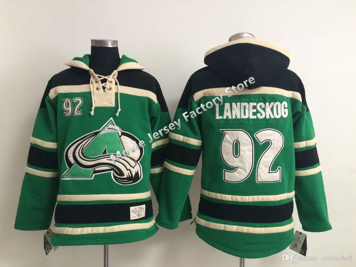 a4dd895e1 ... cheap new old time colorado avalanche 19 joe sakic 33 patrick roy 29  nathan hockey jerseys