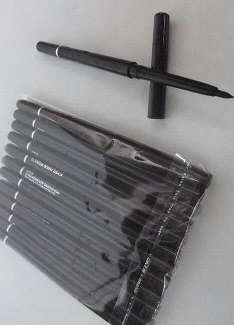 LIVRE shippin boa qualidade mais baixo Melhor-Vendendo boa venda MAIS NOVO Maquiagem rotação automática e delineador à prova d'água telescópica preto * marrom
