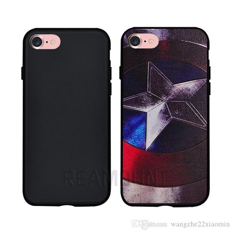 iPhone x 12 13 Pro Max用3D RelifパーソナライズDIYカスタマイズロゴTPUブラック電話ケースカバー