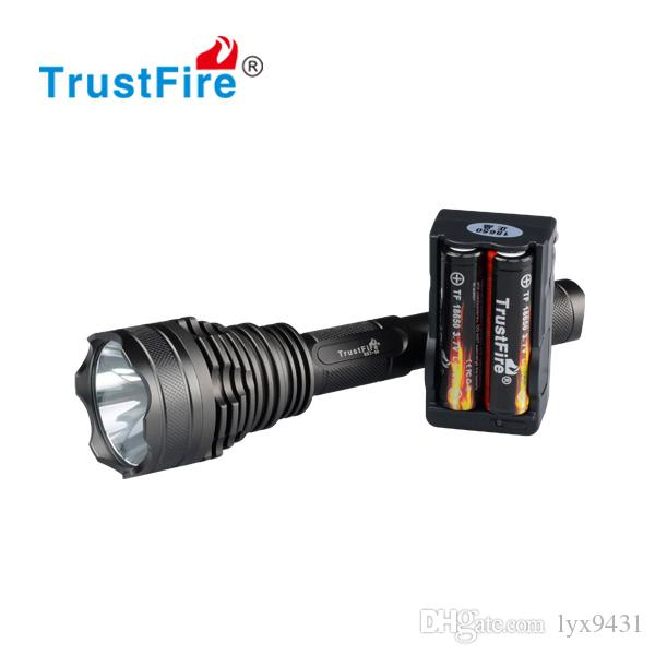 Professional Hunting LED Flashlight White Red Green Light Aluminum Alloy Waterproof LED Flash Light Linterna Military Equipment Lamp Torch
