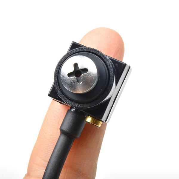 "HD 700TVL 작은 구멍 사진기 소매 상자에있는 마이크 안전 감시를 가진 1/4 ""CMOS 색깔 소형 CCTV 사진기 DIY 사진기"