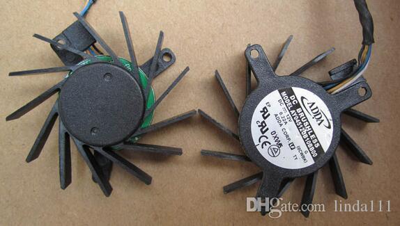 ADDA AY04512UB10BB00 12V 0.22A diámetro del orificio 3.4-3.4-2.6 4.4cm 3 línea ventilador de tarjeta