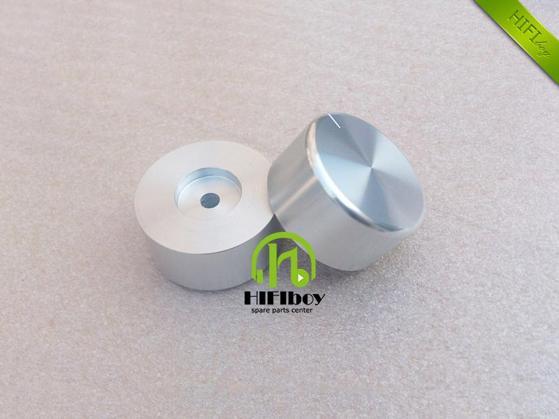 HIFI Aluminum Volume knob 10pcs Diameter 44mm Height 22mm amplifier knob speaker knob