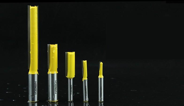15pcs 기계 CNC 슬로 팅 칼 분쇄기를 트리밍 도구 목공 슬롯 전문 직선 나이프 밀링 커터 직선 칼 조각 세트