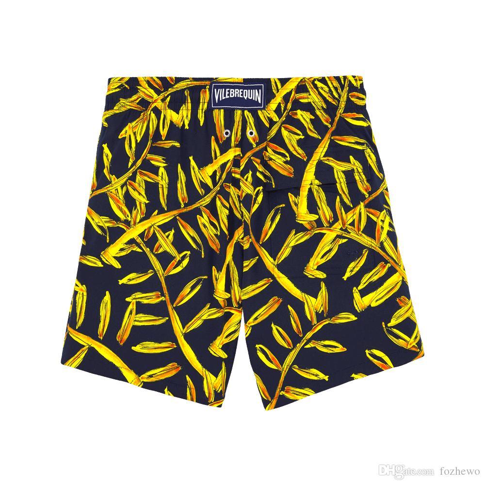 Лучшие качественные бренды мужские летние шорты мода стиль и удобные дышащие хлопковые печать отдых мужские пляжные шорты
