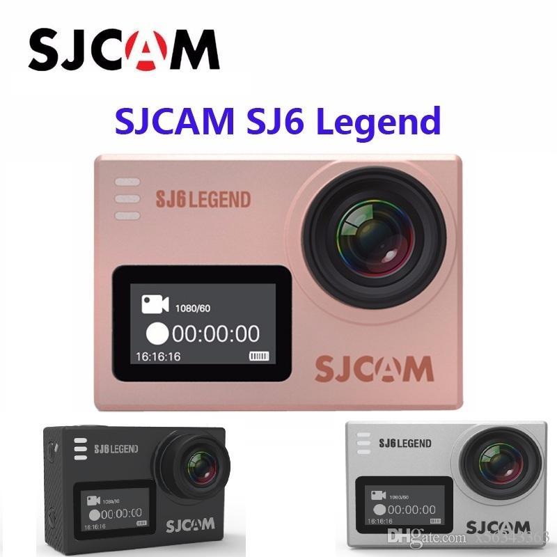 الأصلي sjcam SJ6 أسطورة wifi 4 كيلو 24fps المزدوج شاشة الترا hd كاميرا notavek 96660 شرائح ماء عمل الكاميرا