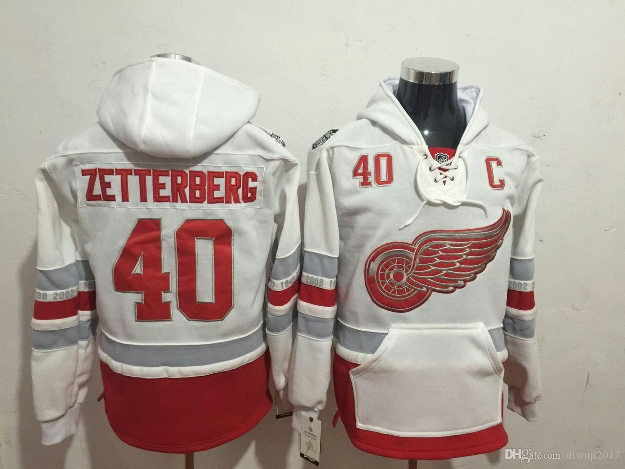 2019 2017 Centennial Classic Detroit Red Wings Dylan Larkin Gordie Howe  Steve Yzerman Justin Abdelkader Henrik Zetterberg Hoodie Sweatshirt From  Diwuji2017 8619cc53a