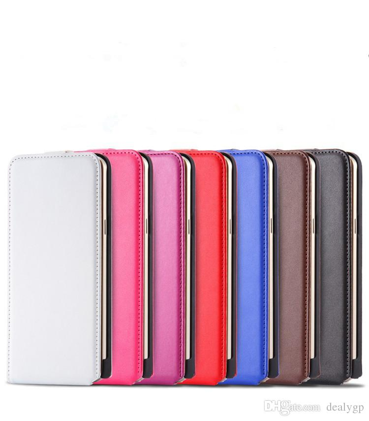 Fashionable Design PU Leather Flip Up and Down Cell Phone Case Cover for Samsung Galaxy s6