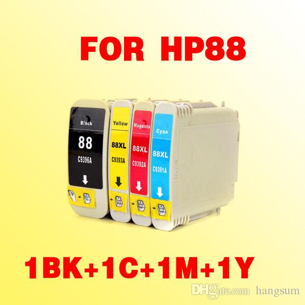 Do wkładu atramentowego HP88 Kompatybilny dla HP 88 88XL Officejet Pro K550 K5400DN K8600 K8600DN L7580 L7590