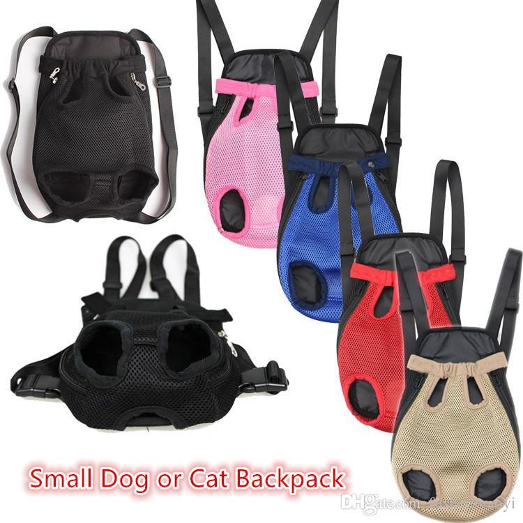 Forniture per animali domestici Carriera per cani Piccolo cane e gatto Zaini per cani da viaggio all'aperto Totes 6 colori Spedizione gratuita