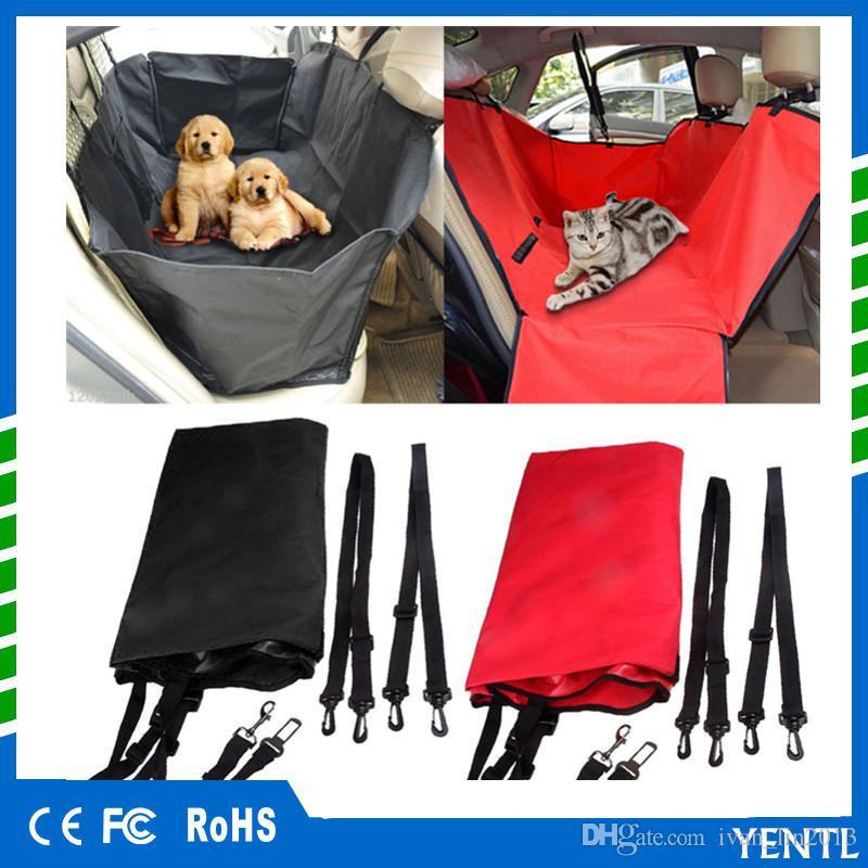 شحن مجاني خاص غطاء مقعد سيارة للماء للحيوانات الاليفة الكلب ماء كلب مقعد السيارة الناقل غطاء الكلب المحمولة الخلفي الخلفي حصيرة حامي