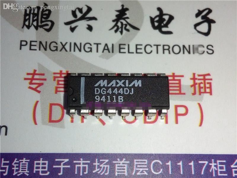 DG444DJ. QUAD 1-CHANNEL, SGL POLE SGL THROW SWITCH, двойной встроенный 16-контактный упаковочный пластиковый пакет. DG444 / PDIP16. Компоненты / IC