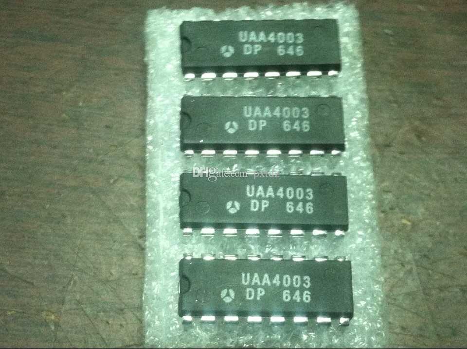 UAA4003DP. UAA4003, doppio pacchetto in plastica 16 pin in linea Microelectronics / PDIP16, componenti elettronici. circuiti integrati circuiti integrati