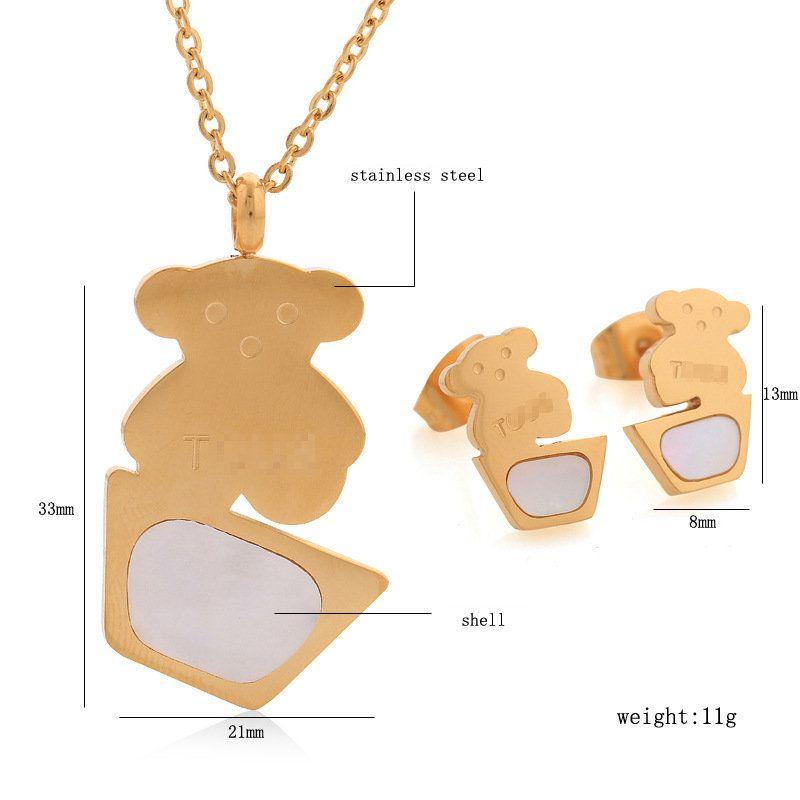 Elefanten Kette 999er Gold 24K echt vergoldet Damen Schmuck Strass Geschenk