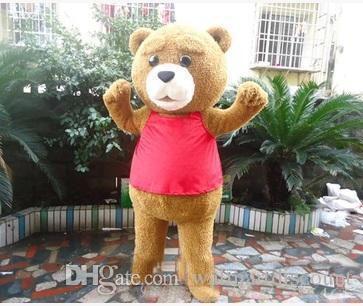 Venda direta da fábrica Teddy Bear Adult Mascot Costume para Dia Dos Namorados L Dia de Ação de Graças do Dia Das Bruxas do Natal Do Dia Das Bruxas Traje Da Mascote