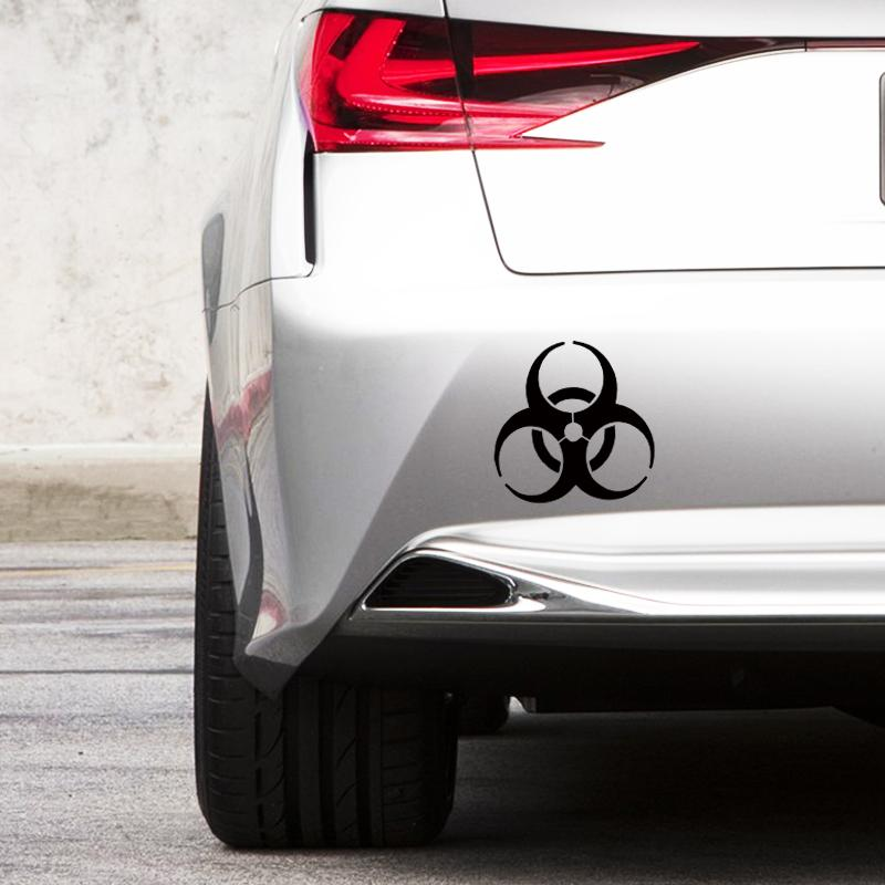 VW Bug Custom vinyl sticker Zombie Outbreak Response Unit decal