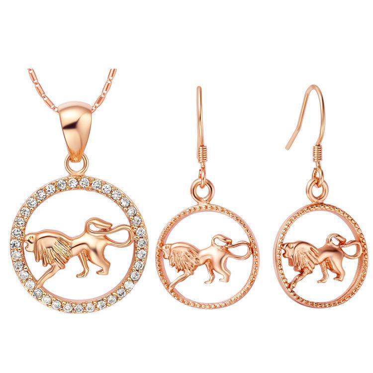 Placcato NUOVO set di 925 set personalizzati in argento sterling di dodici orecchini pendenti con set di costellazioni