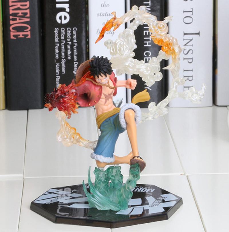 "7 ""One Piece Monkey D Luffy Battle Ver. Figuarts Zero PVC inscatolato Action Figure Collection Toy Model Cartoon Gift"