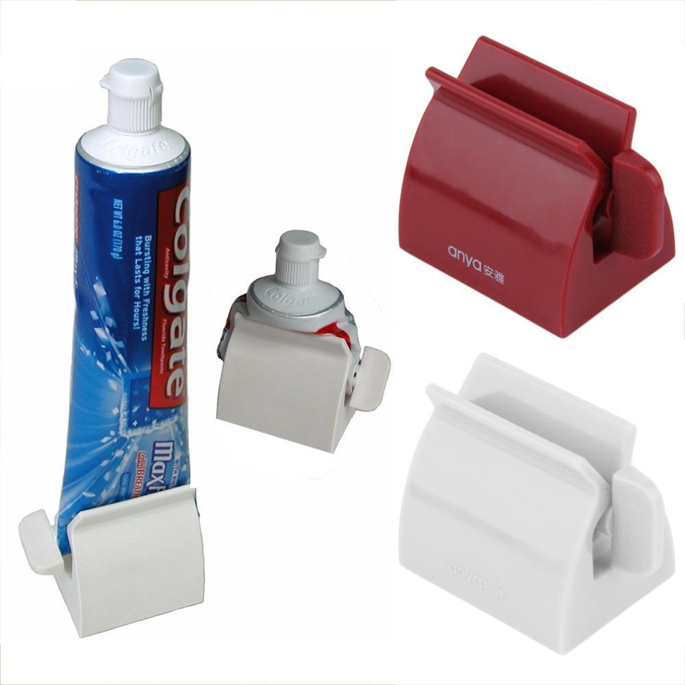 Nuovo arrivo Bagno Set Accessori Rolling Tube Dentifricio Spremiagrumi Dispenser + Spazzolino da denti Porta spazzolino