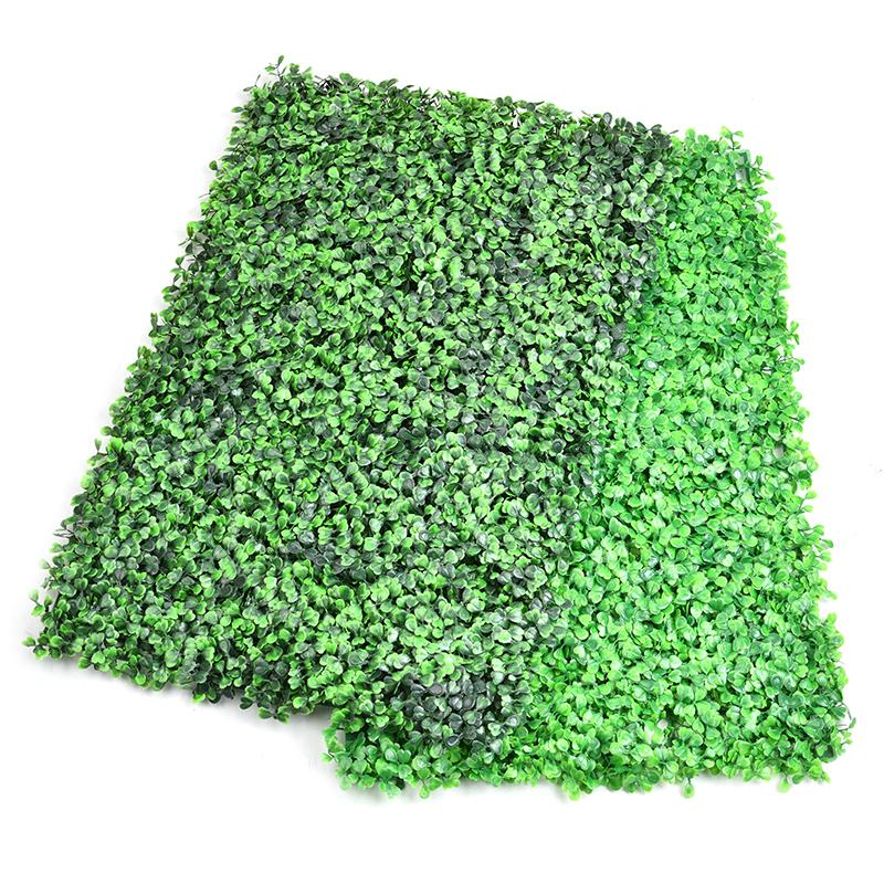 wholesale DIY Artificial Lawn Turf Green Grass Lawns Garden Market Store Wall Decor House Ornaments Decorative Plastic Turf 63*44cm