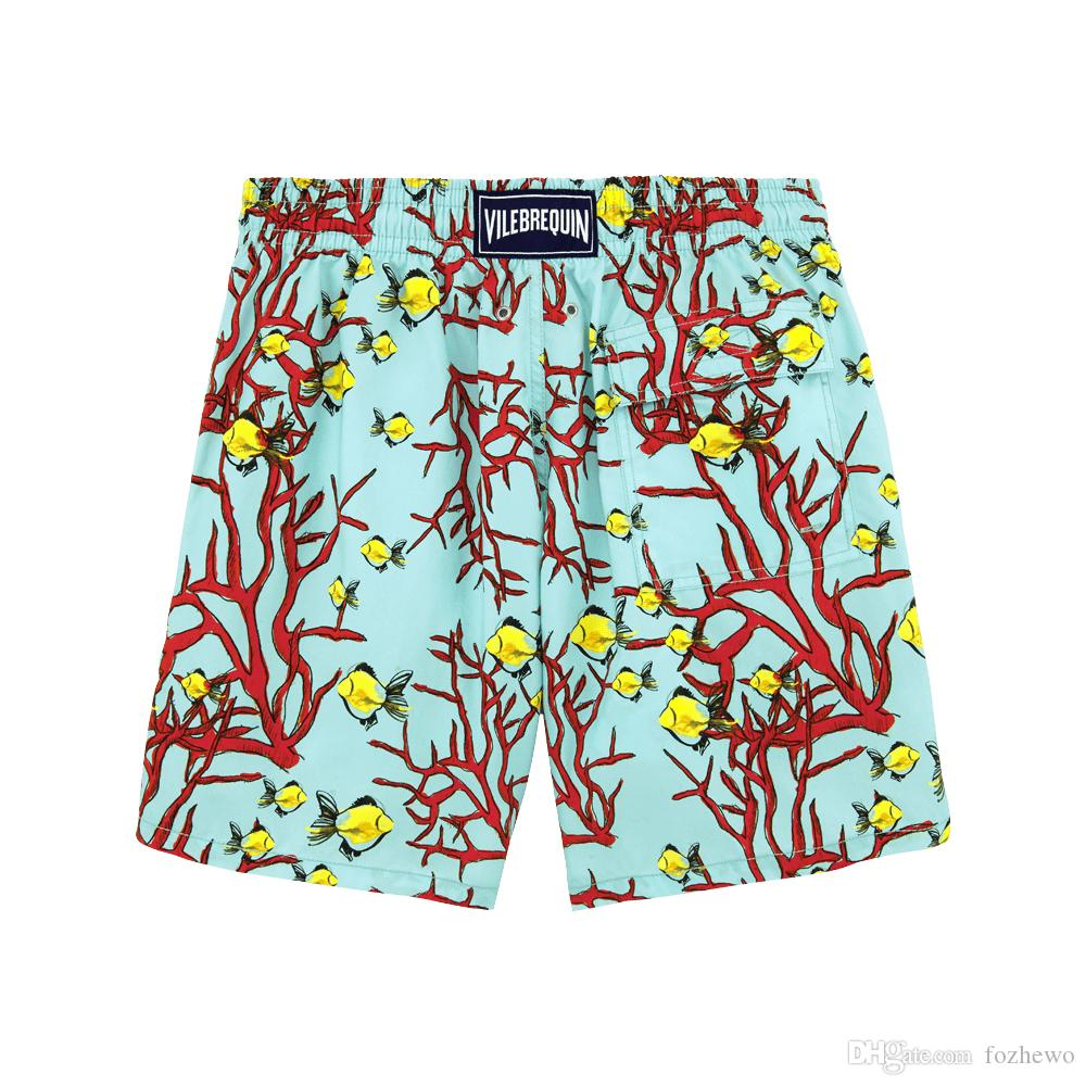 Top Quality New Brand Quick Dry Men Shorts Casual Beach Short Homme Bermuda Summer Loose Men's Board Shorts Camouflage Print