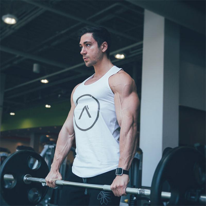 Verano hombres calientes gimnasios de fitness culturismo con capucha sin mangas de moda para hombre ropa Crossfit flojo transpirable camisas sin mangas chaleco