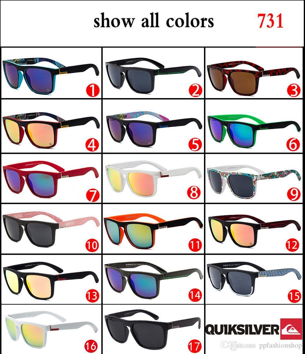 2017 고품질 QUIKSILVER 패션 새로운 선글라스 QS731 도매 DHL 무료 배송