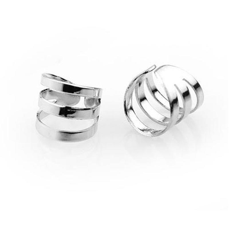 Clip per orecchio -PFS- Semplice freddo unico Unisex Hollow U forma polsino dell'orecchio orecchino No Piercing regalo orecchio clip eccezionale gioielli # 1787080