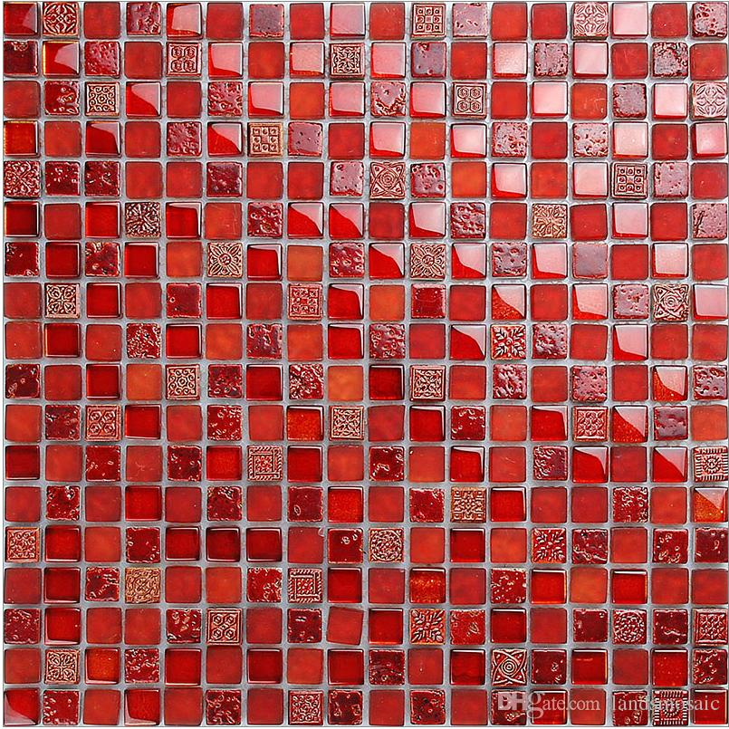 Mosaic in Red