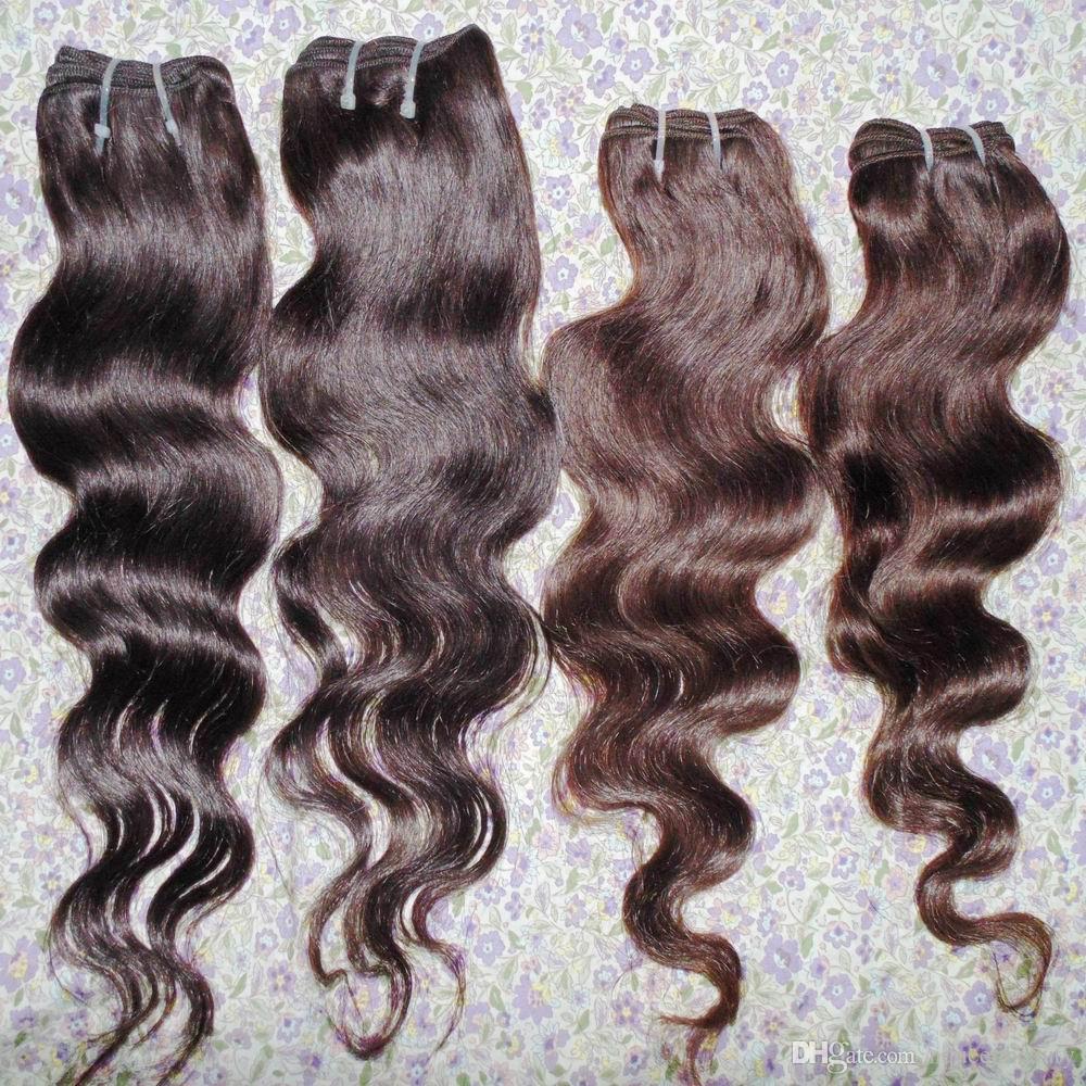 جيد الصفقة متجر الشعر التمديد رخيصة بيرو متموجة معالج الشعر البشري 7pcs / lot (350 جرام) سريع الشحن فتاة جميلة