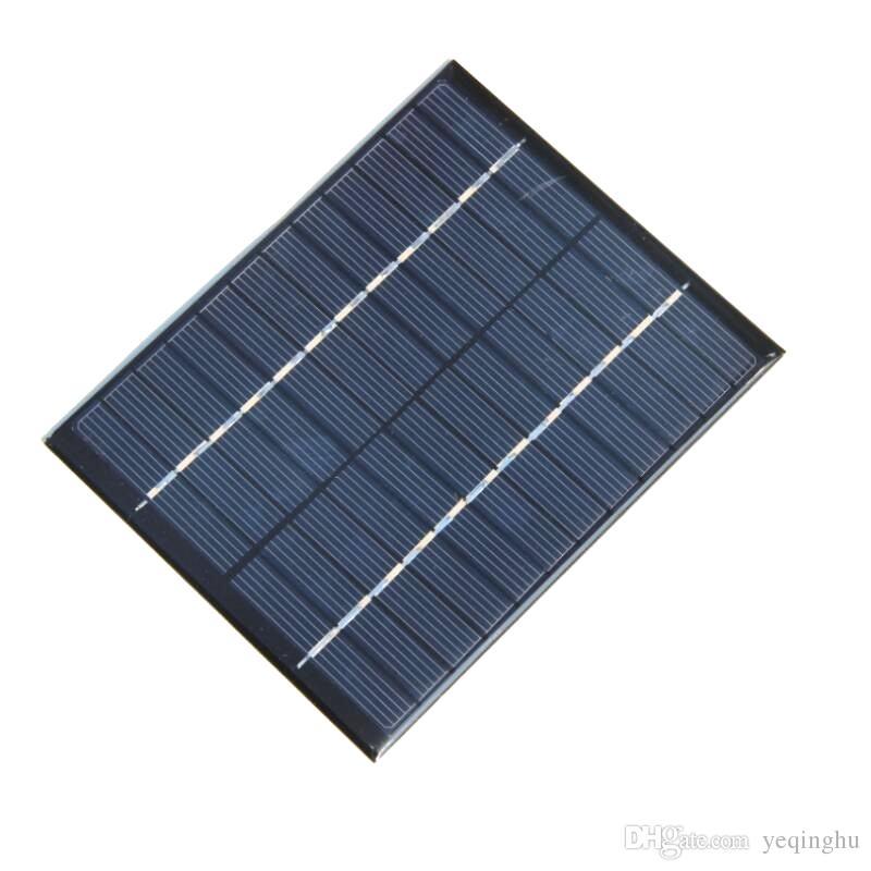 도매 고품질의 2W 12V 태양 전지 다결정 솔라 패널 모듈 DIY 솔라 충전기 136 * 110 * 3MM 10pcs / lot 무료 배송