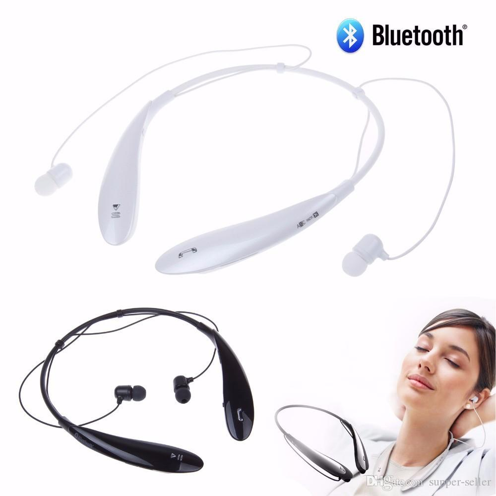 HBS800 Bluetooth Earphone Sport Wireless Headset Handsfree With Microphone Neckband Style Earphones for iPhone samsung Ultra Brand