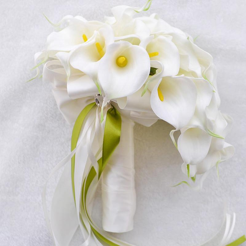Bouquet Fleur Mariage Elegant Lily Wedding Bouquet Wedding Flowers Bridal Bouquets Flowers Wedding Decorations Party Supplies Flowers For Mothers Day