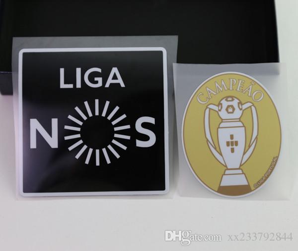Спортивные сувениры Primeira Liga CAMPEAO футбол Печать патчей значки, футбол горячего тиснения