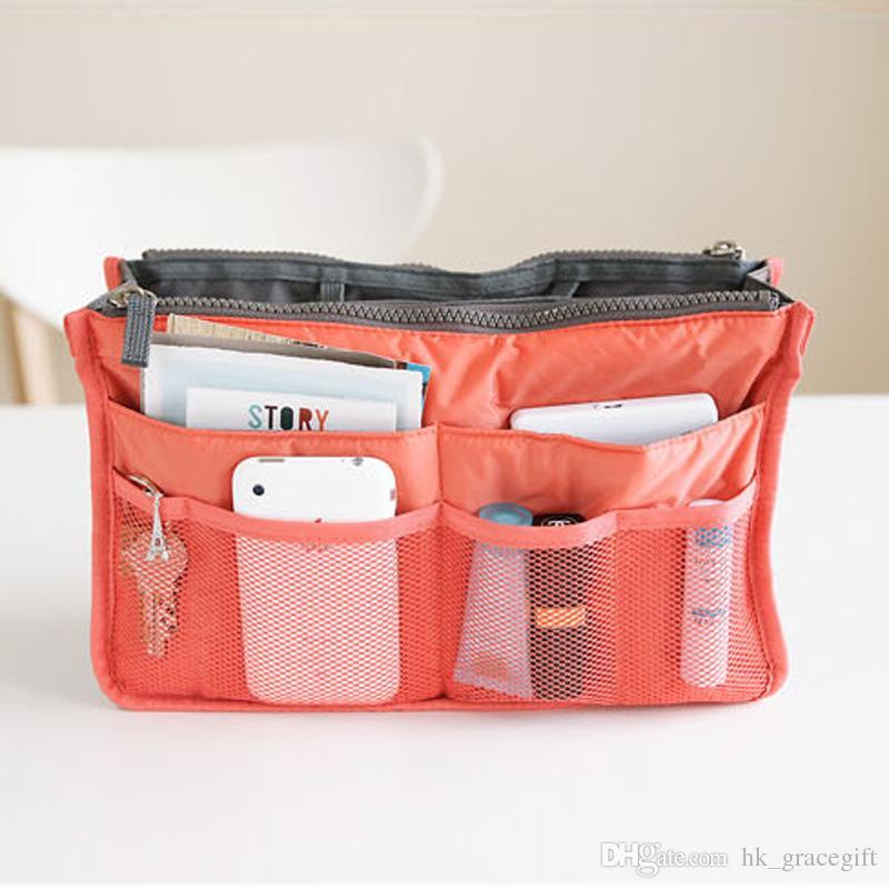 حقيبة مستحضرات التجميل متعددة الأغراض المحمولة Pouches handbags Bag in Bag Travel bag حقيبة تخزين مضادة للماء منظم الحقائب