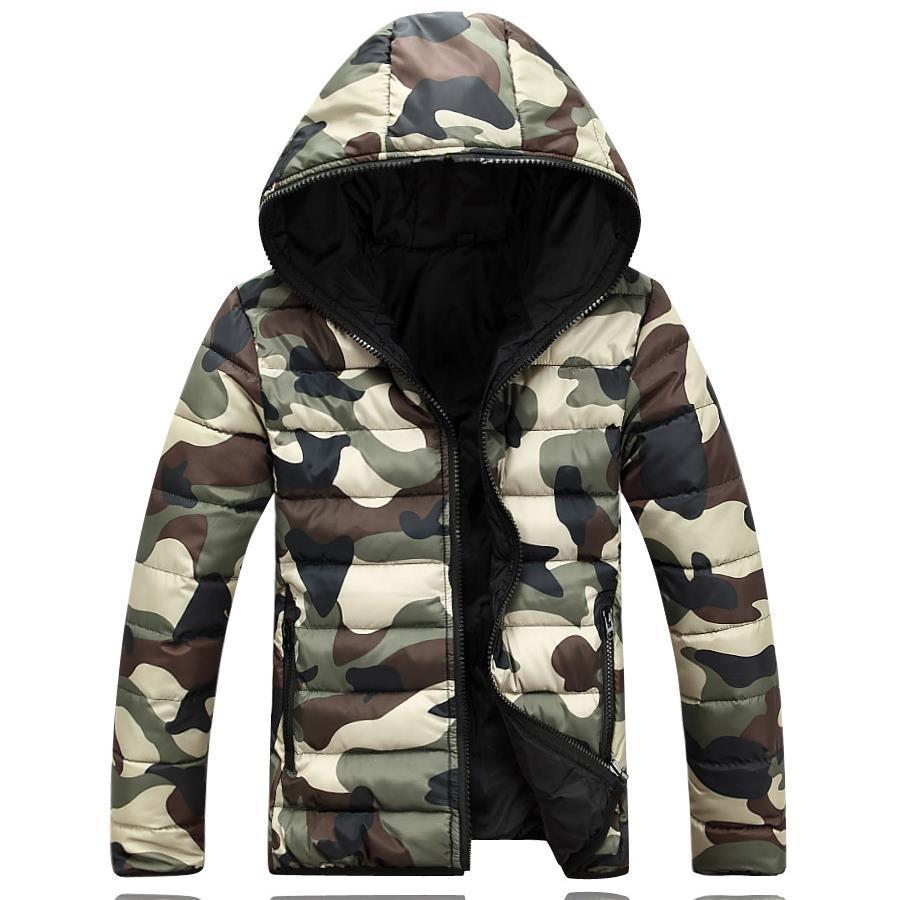 Großhandels- L12 2016 Marke Herrenbekleidung Winterjacke mit Hoodies Outwear Warmer Mantel Männlich Solide Wintermantel Männer Casual Warm Daunenjacke