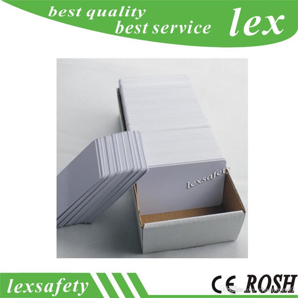 100pcs par lot FM11RF08 13.56MHz 1K Carte réinscriptible Mf vierge F08 puces à l'intérieur de la carte RFID Fudan imprimable Fudan